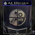 Philidelphia Pro Sports Decal Sticker Carbon FIber Chrome Vinyl 120x120