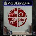 Philidelphia Pro Sports Decal Sticker DRD Vinyl 120x120