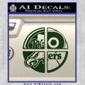 Philidelphia Pro Sports Decal Sticker Dark Green Vinyl 120x120