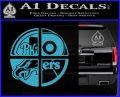 Philidelphia Pro Sports Decal Sticker Light Blue Vinyl 120x97