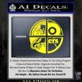 Philidelphia Pro Sports Decal Sticker Yellow Laptop 120x120