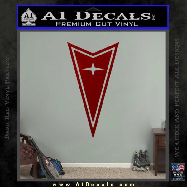 Pontiac Arrow Decal Sticker DRD Vinyl