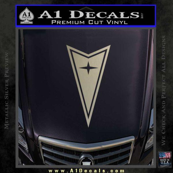 Pontiac Arrow Decal Sticker 187 A1 Decals