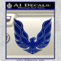 Pontiac Firebird Decal Sticker ALT 1977 Blue Vinyl 120x120