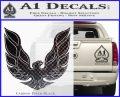 Pontiac Firebird Decal Sticker ALT 1977 Carbon FIber Black Vinyl 120x97