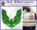 Pontiac Firebird Decal Sticker ALT 1977 Green Vinyl Logo 120x97