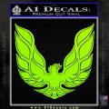 Pontiac Firebird Decal Sticker ALT 1977 Lime Green Vinyl 120x120