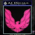 Pontiac Firebird Decal Sticker ALT 1977 Pink Hot Vinyl 120x120