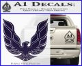 Pontiac Firebird Decal Sticker ALT 1977 PurpleEmblem Logo 120x97