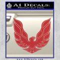 Pontiac Firebird Decal Sticker ALT 1977 Red 120x120