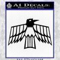Pontiac Firebird Decal Sticker Retro Black Vinyl 120x120