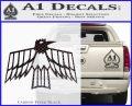 Pontiac Firebird Decal Sticker Retro Carbon FIber Black Vinyl 120x97