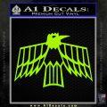 Pontiac Firebird Decal Sticker Retro Lime Green Vinyl 120x120