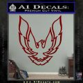Pontiac Firebird Decal Sticker V1 DRD Vinyl 120x120