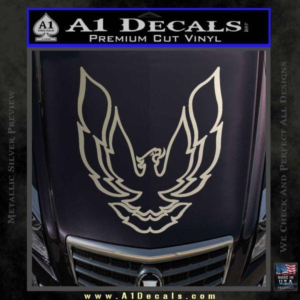 Pontiac Firebird Decal Sticker V1 A1 Decals