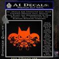 Powerpuff Girls Justice League Final Decal Sticker Orange Emblem 120x120