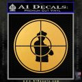 Public Enemy Decal Sticker CR Gold Vinyl 120x120