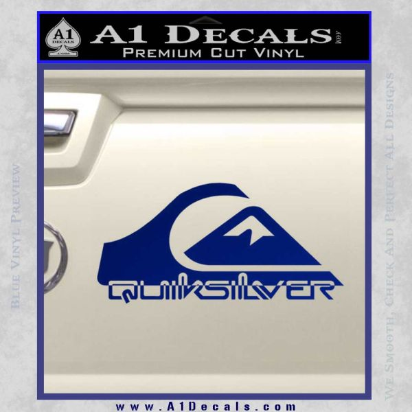 Quicksilver Decal Stickers