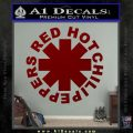 RHCP Red Hot Chilli Peppers Decal Sticker DRD Vinyl 120x120