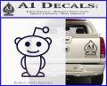 Reddit Alien D1 Decal Sticker PurpleEmblem Logo 120x97