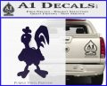 Robot Chicken Decal Sticker PurpleEmblem Logo 120x97