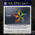 Rock Star Decal Sticker P5 Glitter Sparkle 120x120