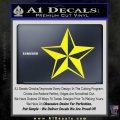Rock Star Decal Sticker P5 Yellow Laptop 120x120