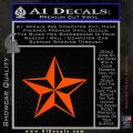 Rock Star P5 Decal Sticker Orange Emblem 120x120