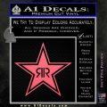 Rockstar Energy Drink D2 Decal Sticker Pink Emblem 120x120