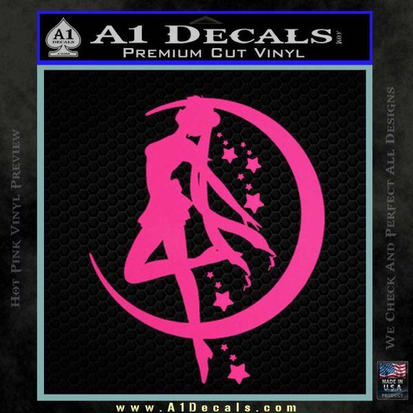 Sailor Moon Crescent Moon Stars Decal Sticker 187 A1 Decals