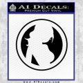 Skin Industries Decal Sticker Black CR Vinyl Black 120x120