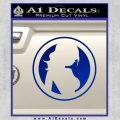 Skin Industries Decal Sticker CR Blue Vinyl Black 120x120
