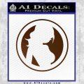 Skin Industries Decal Sticker CR Brown Vinyl Black 120x120