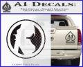 Skin Industries Decal Sticker CR CFB Vinyl Black 120x97