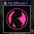 Skin Industries Decal Sticker CR Neon Pink Vinyl Black 120x120