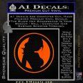 Skin Industries Decal Sticker CR Orange Emblem Black 120x120