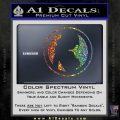 Skin Industries Decal Sticker CR Spectrum Vinyl Black 120x120