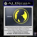 Skin Industries Decal Sticker CR Yellow Vinyl Black 120x120