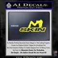 Skin Industries Decal Sticker Sexy Yellow Vinyl Black 120x120