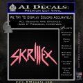 Skrillex Decal Sticker Full Soft Pink Emblem Black 120x120