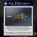 Skrillex Decal Sticker Full Spectrum Vinyl Black 120x120