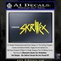 Skrillex Decal Sticker Full Yellow Vinyl Black 120x120