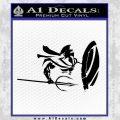 Sparta 300 Spartan Shield Trident Decal Sticker Black Vinyl Black 120x120