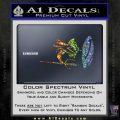 Sparta 300 Spartan Shield Trident Decal Sticker Spectrum Vinyl Black 120x120