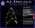 Star Trek Decal Sticker – Engineering 3DC Vinyl 120x97