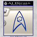 Star Trek Decal Sticker – Engineering Blue Vinyl 120x120