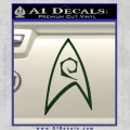 Star Trek Decal Sticker – Engineering Dark Green Vinyl 120x120