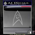 Star Trek Decal Sticker – Engineering Grey Vinyl 120x120
