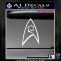 Star Trek Decal Sticker – Engineering White Vinyl 120x120