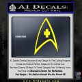 Star Trek Decal Sticker – Medical Decal Sticker Yellow Laptop 120x120